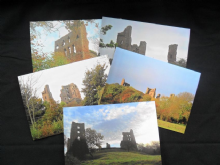 Sheriff Hutton Greeting Cards. 5 per Pack.